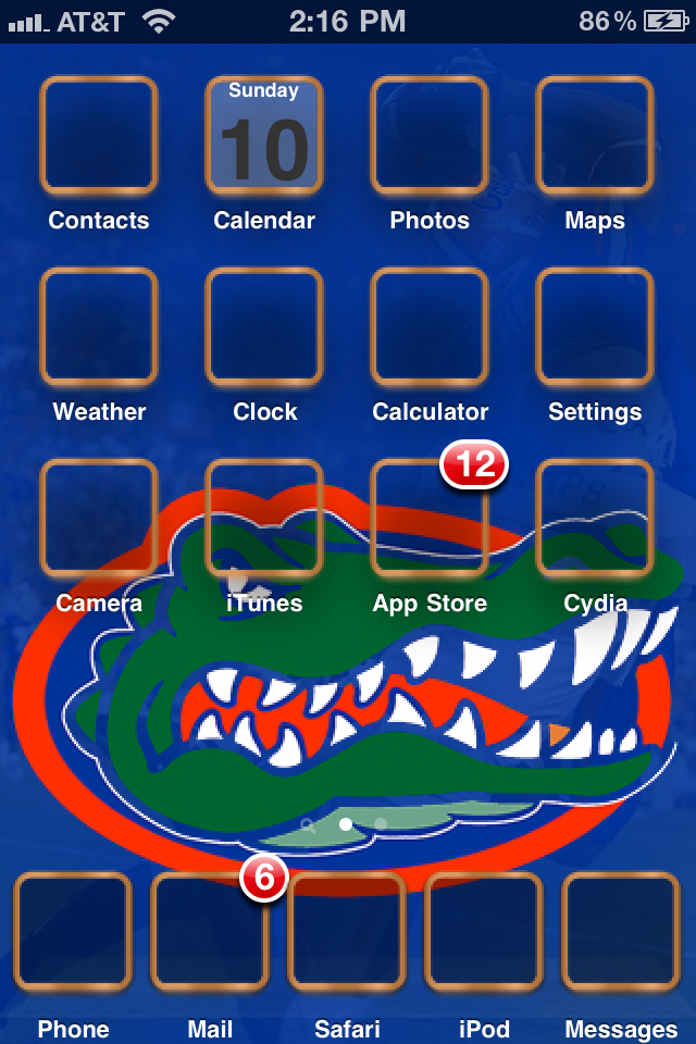 Repo Florida Gators Theme